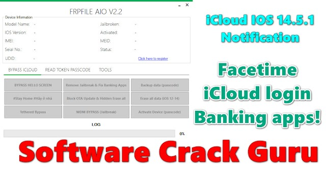 FRPFILE AIO iCloud tool V2.2 Free Download