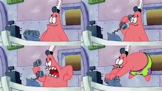 Polosan meme patrick telepon