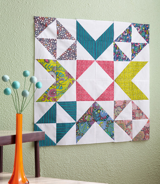 Calico Star Quilt Free Tutorial designed by Jenny of Missouri Quilt Co