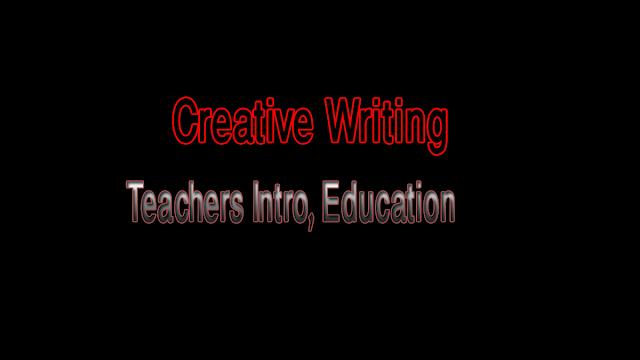 DigiSkills Creative Writing Course Teachers Introduction