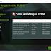 Falha na instalação NVIDIA - Como Resolver? Placa gráfica não encontrada!