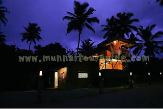 villa in alleppey with direct beach access