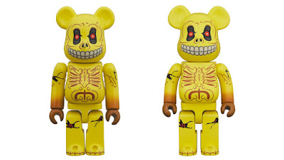 Madballs Skull Face Be@rbrick Vinyl Figures by Medicom Toy