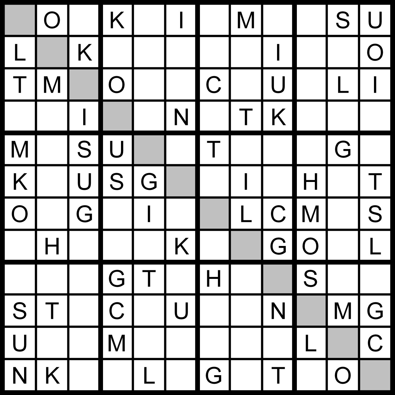 picture relating to 16 Square Sudoku Printable called Magic Term Sq.: July 2011