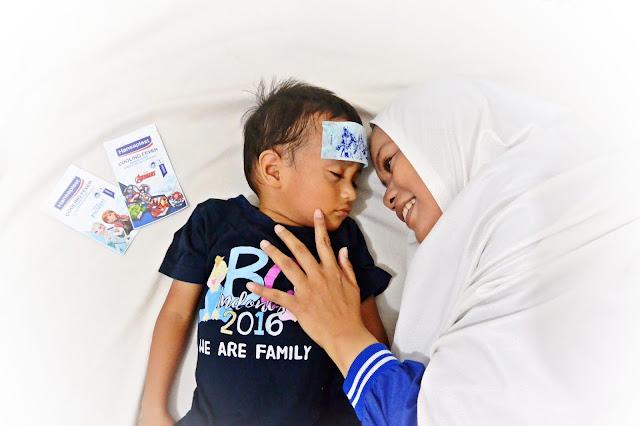Hansaplast Cooling Fever Disney untuk mengatasi demam #GakPakeDrama