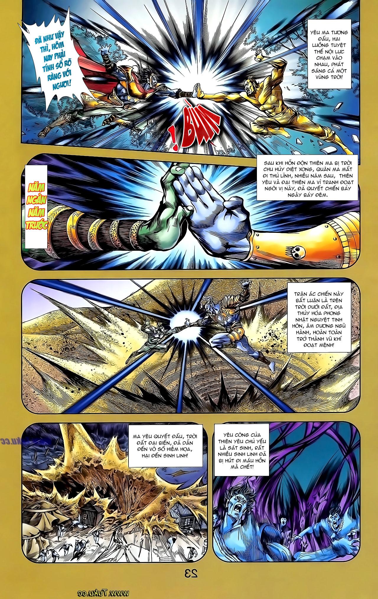 Cơ Phát Khai Chu Bản chapter 136 trang 17