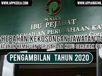 Jawatan Kosong di Perbadanan Kemajuan Perusahaan Kayu Sarawak (PUSAKA)