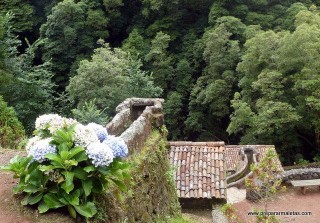 molinos de agua en San Miguel Azores