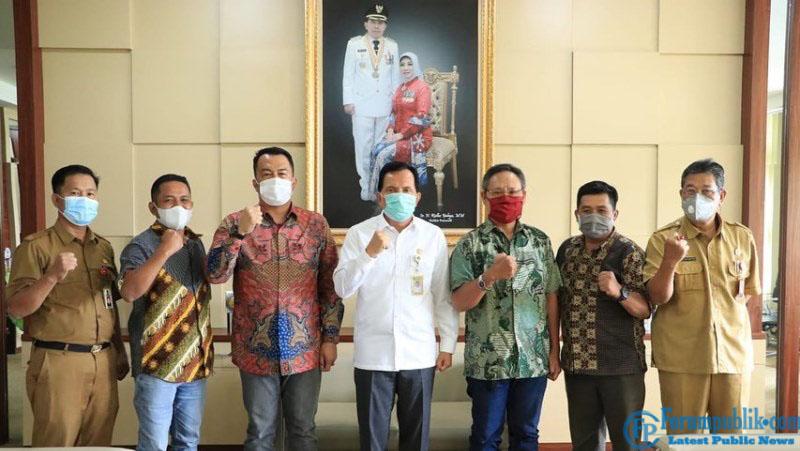 Audiensi Pengurus, Walikota Prabumulih Sambut Hangat Kehadiran JMSI Sumsel