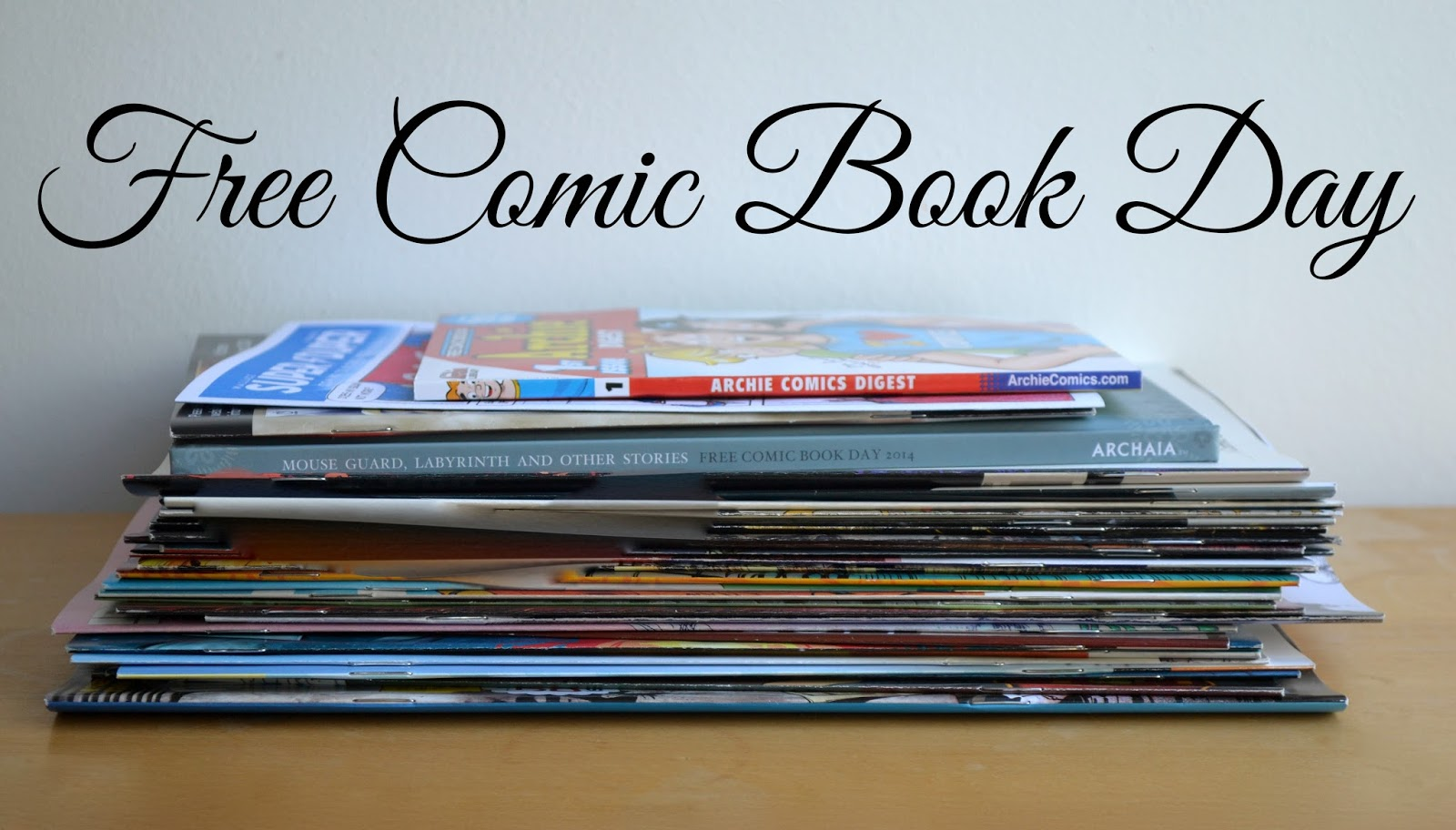 Free Comic Book Day: Pile of comics!