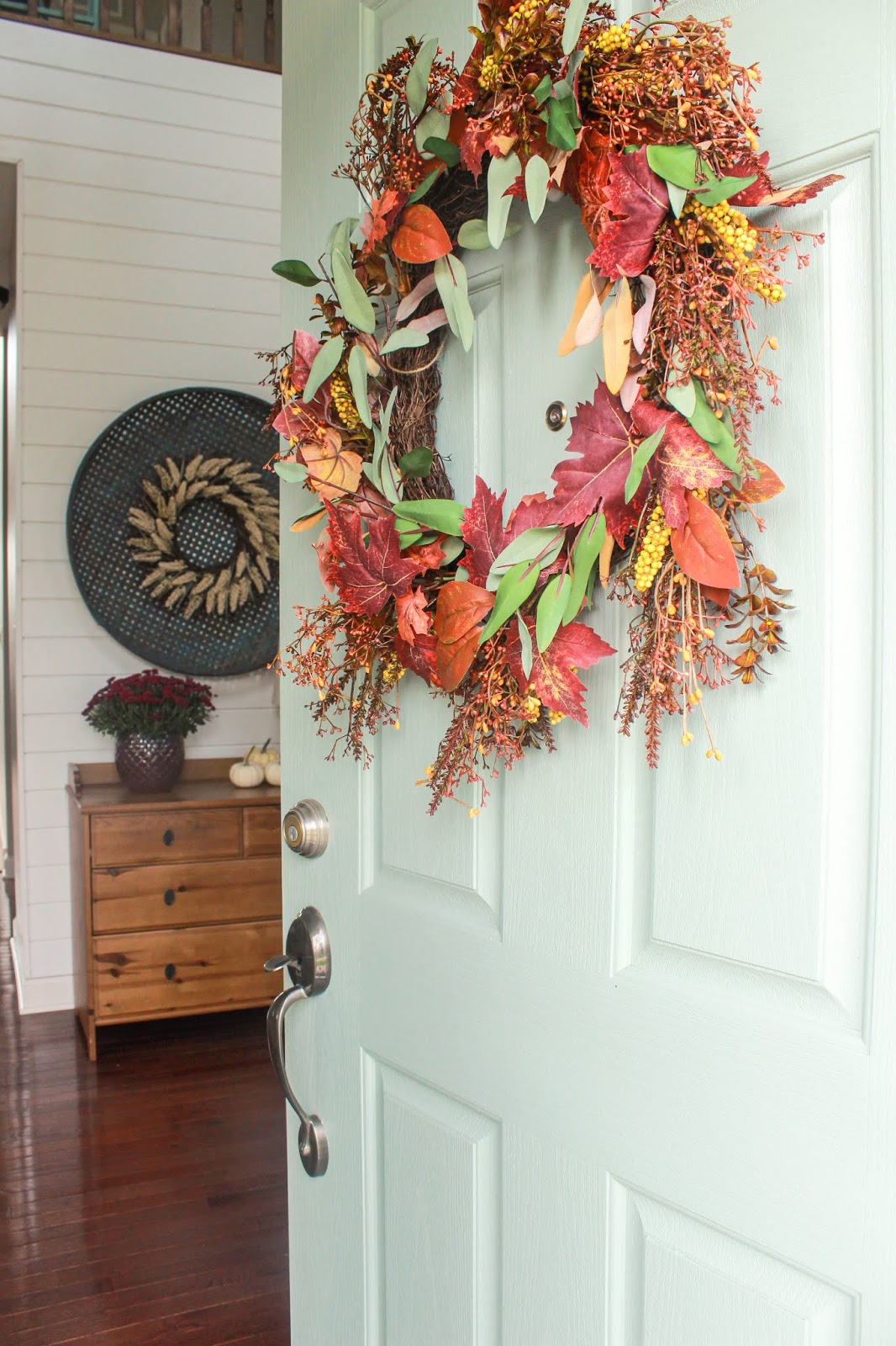 fall wreaths for front door