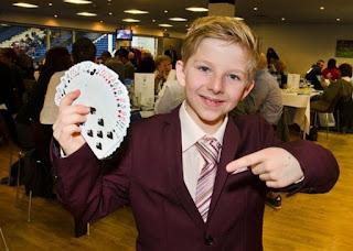 Dan Rhodes Childhood pic and Magic Trics