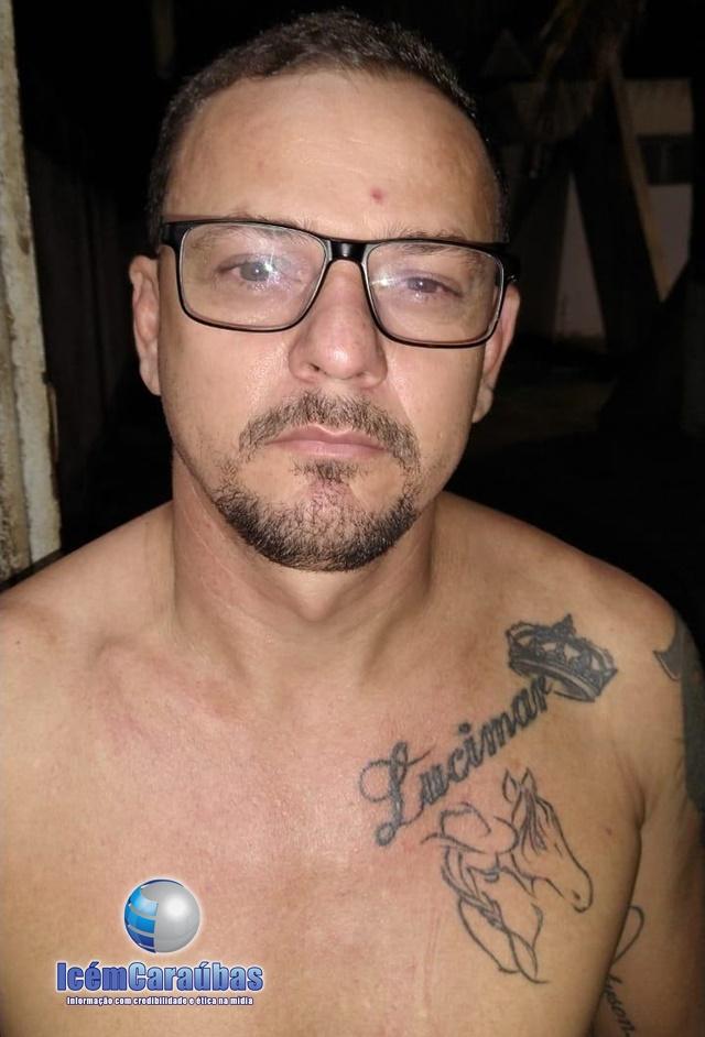 Caraubense considerado um dos maiores assaltantes de banco do país é preso pela Polícia Civil em Aracaju, SE