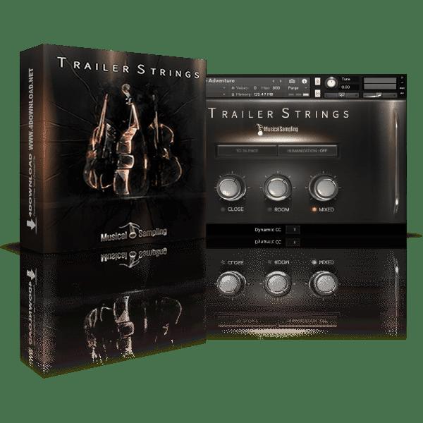 Musical Sampling Trailer Strings KONTAKT Library