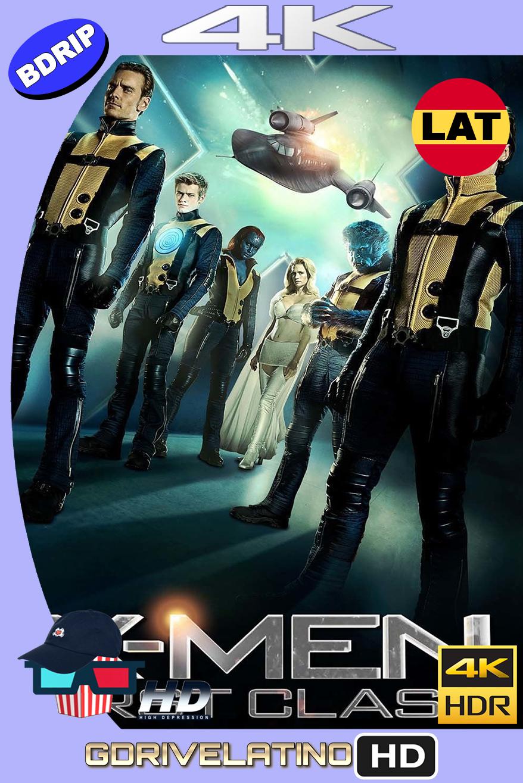 X-Men Primera Generación (2011) BDRip 4K HDR Latino-Ingles MKV