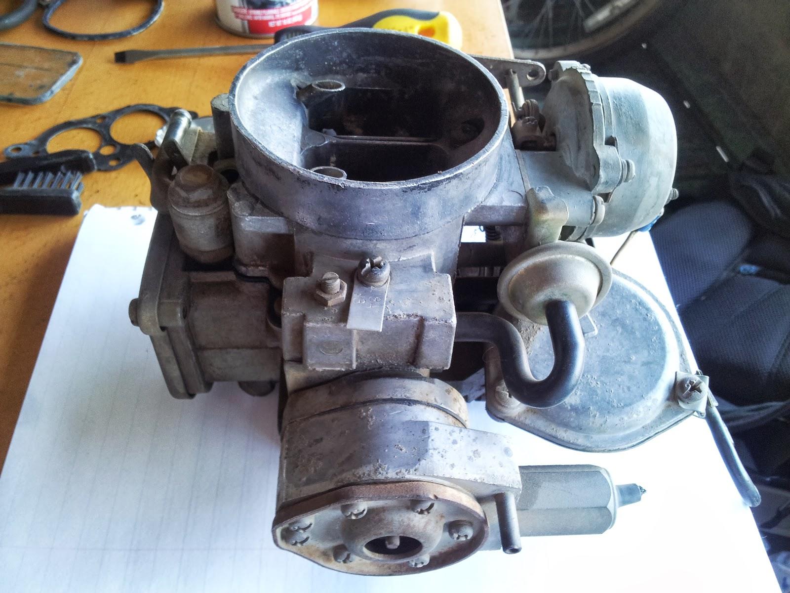 Nissan 720 Carburetor Adjustment