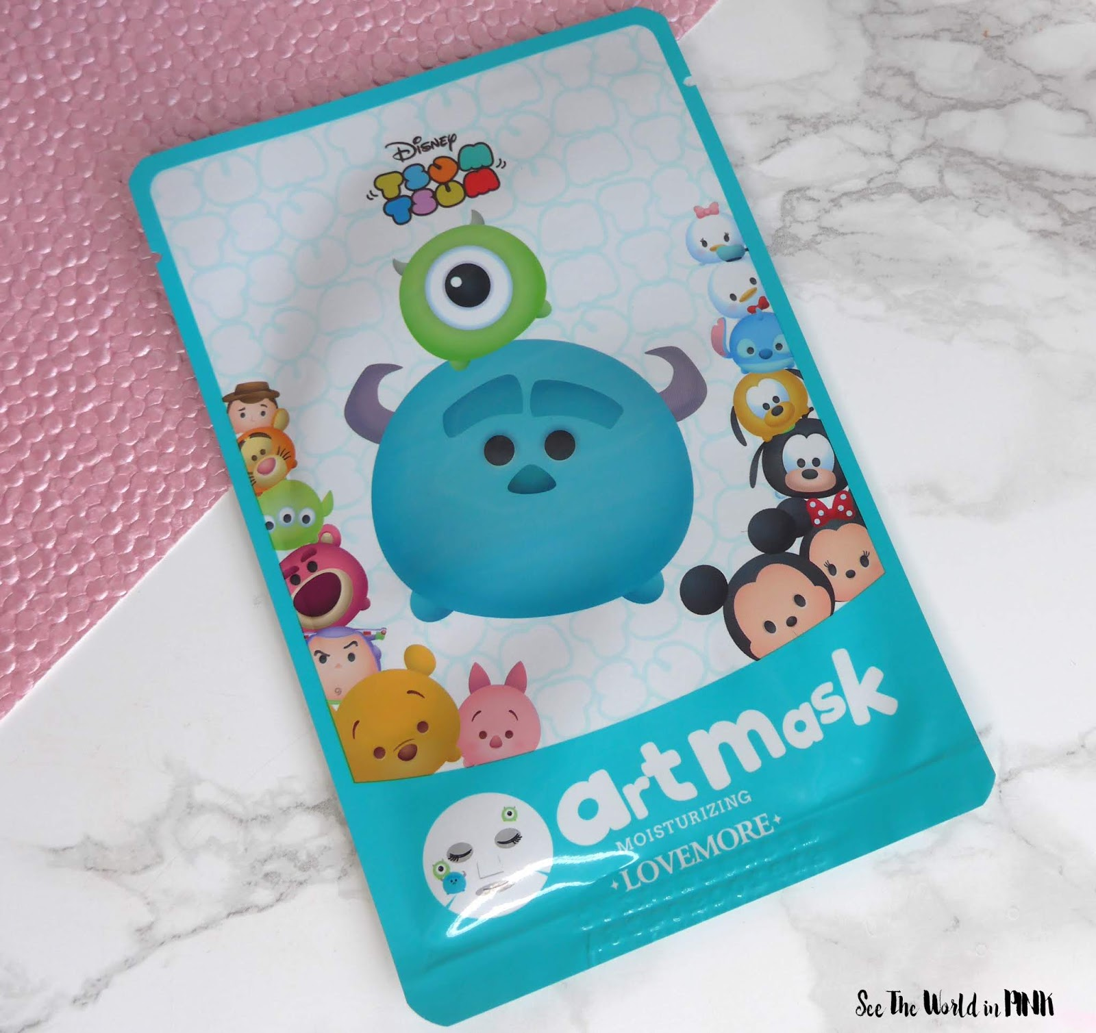 Skincare Sunday #CBBGetsSheetFaced lovemore x disney tsum tsum monsters inc mask