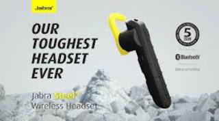 headset bluetooth terbaik jabra steel