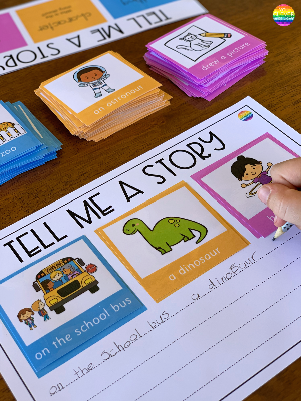 Tell Me A Story Writing Center | you clever monkey