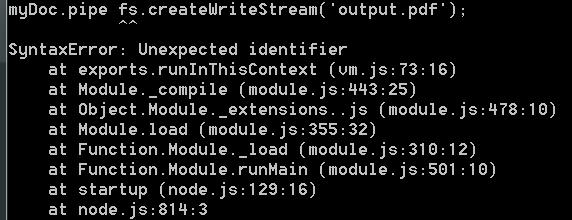 Coding Defined: Creating PDF's in NodeJS