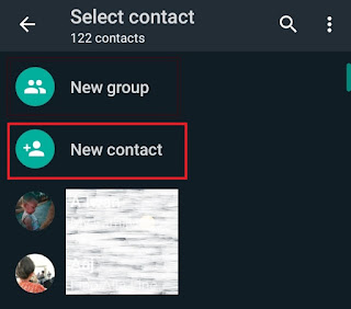 add new contact