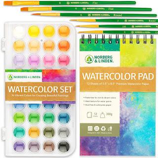 Inexpensive Watercolor Set