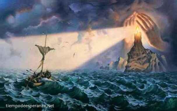 Jesús es el faro en alta mar