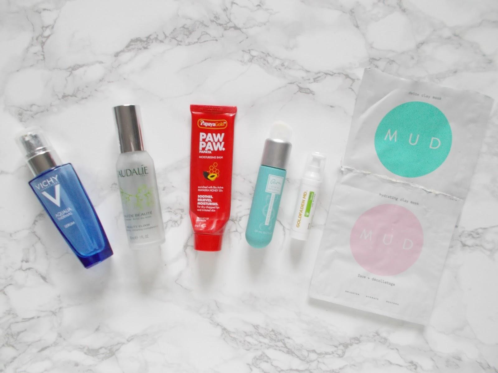 mint skin mud mask vichy serum dna renewal review