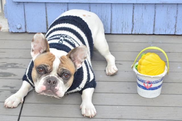 Pull marin fait main, tricoté en France