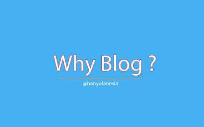Kenapa Ngblog itu Penting