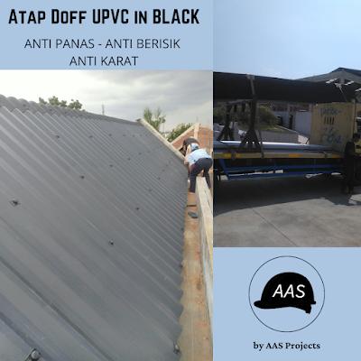 Atap UPVC Setara Alderon Rooftop Dr Shield untuk Proyek Pabrik dan Gudang