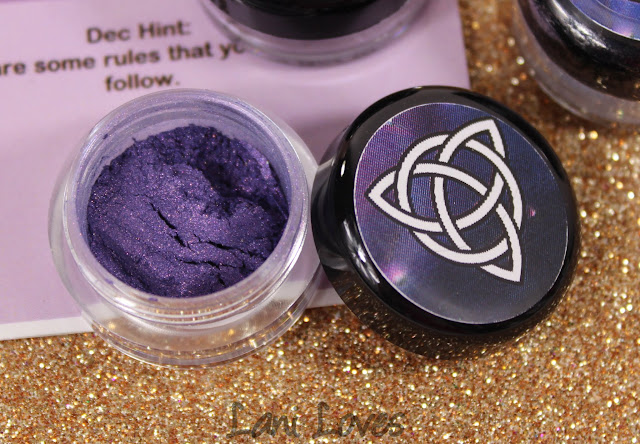 Notoriously Morbid Spell Caster Eyeshadow Swatches & Review
