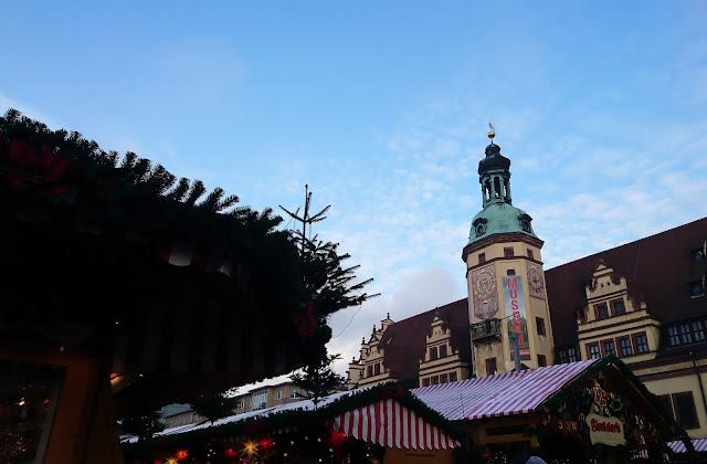 Weihnachtsmarkt Leipzig Innenstadt