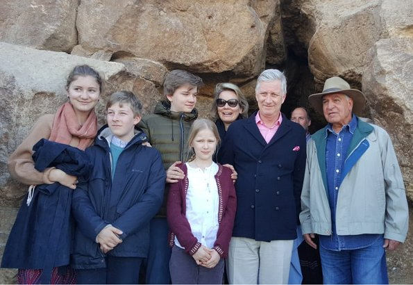 Belgian Royal Family Visited Egypt On Christmas Holiday