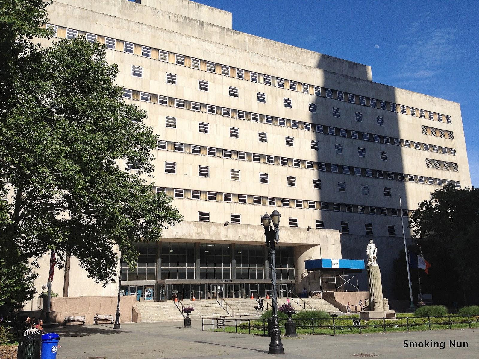 THE SMOKING NUN: Civil Servant: My Day Of Serving Jury Duty