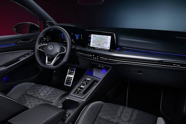 Novo VW Golf Variant Estate 2021 - interior