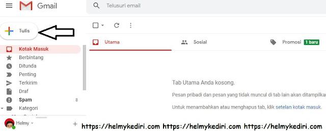 Cara kirim email menggunakan layanan gmail