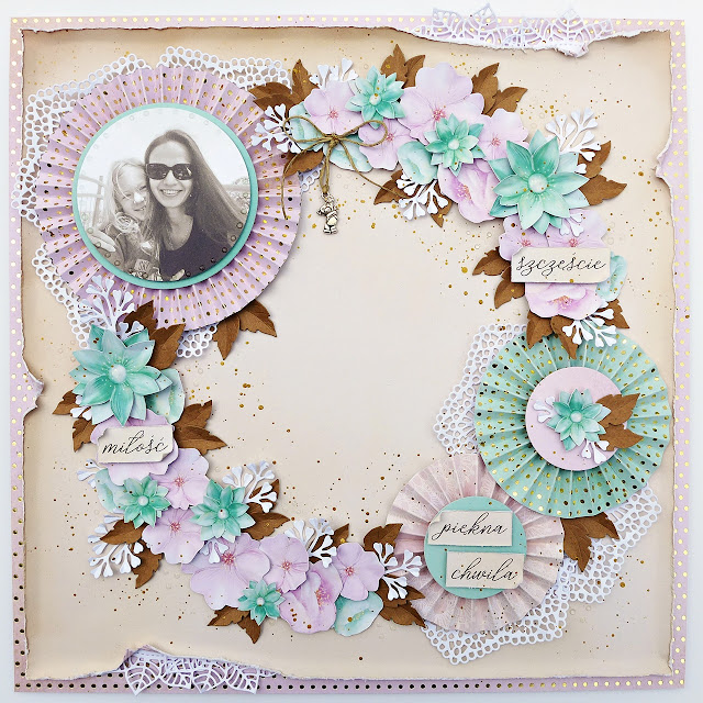 Wiosenny layout / Spring Layout – DT Craft Passion