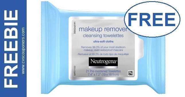 FREE Neutrogena Makeup Remover Wipes 6-27-7-3