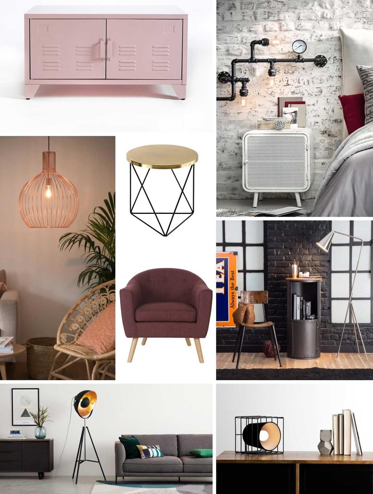 sélection déco meubles petit prix promos soldes