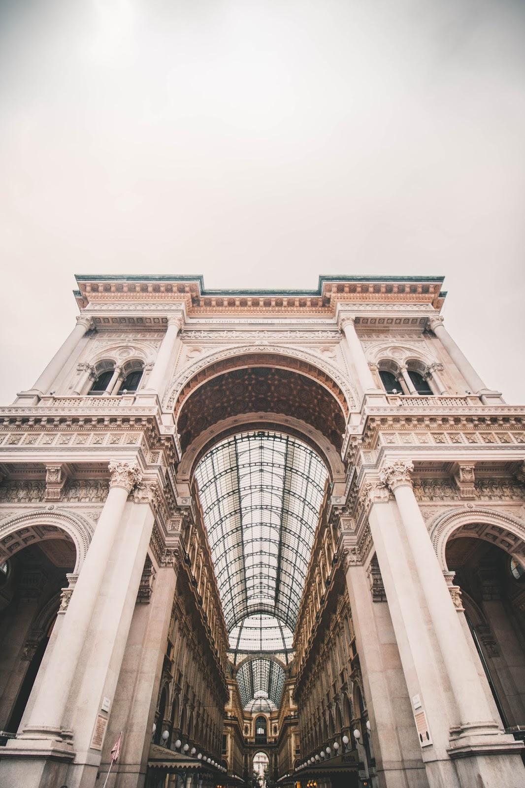 Duomo galerie Milan blog