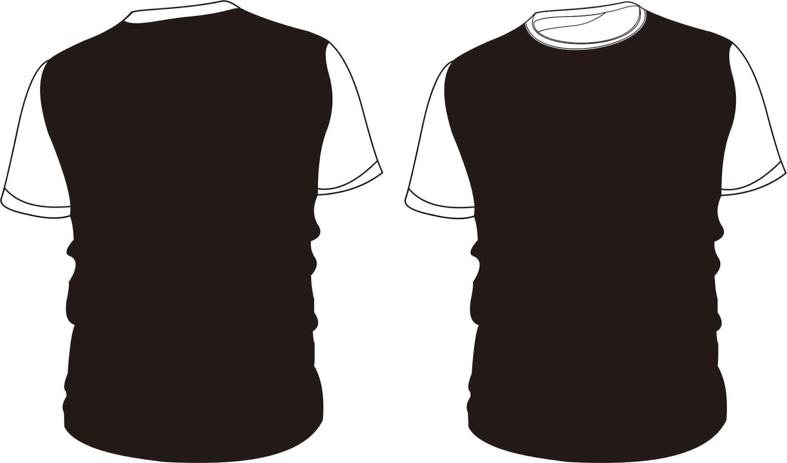 Kaos Polos Hitam Depan Belakang 0856 333 0071 Jasa Konveksi Dan Bordir Terbaik