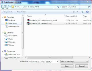 Cara Install Linux Tanpa Flashdisk