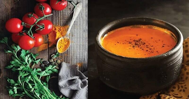 Turmeric, Tomato & Black Pepper Soup