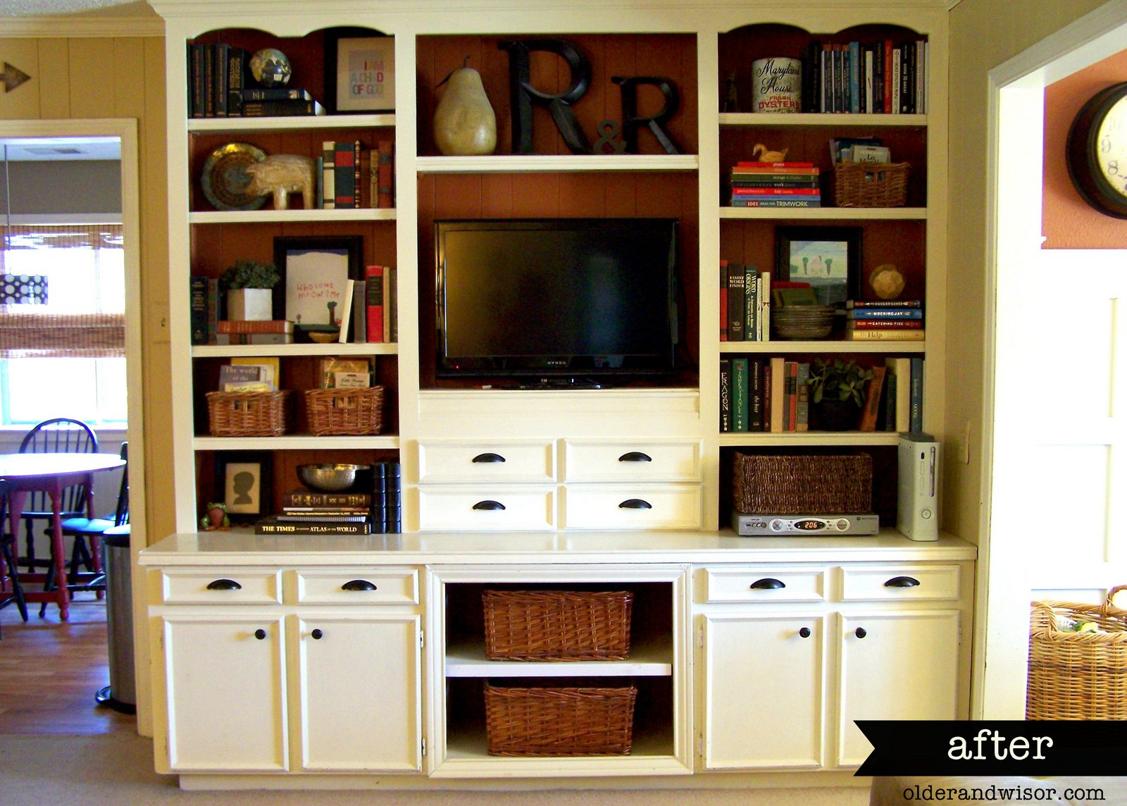Older And Wisor Using What You Ve Got Dated Built Ins