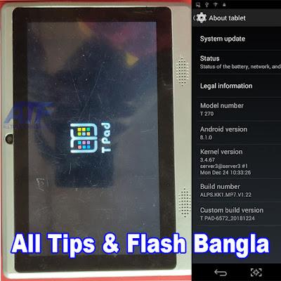 T Pad T270 Flash File