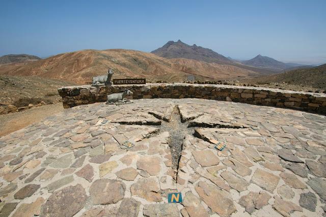 Punto panoramico astronomico-Fuerteventura