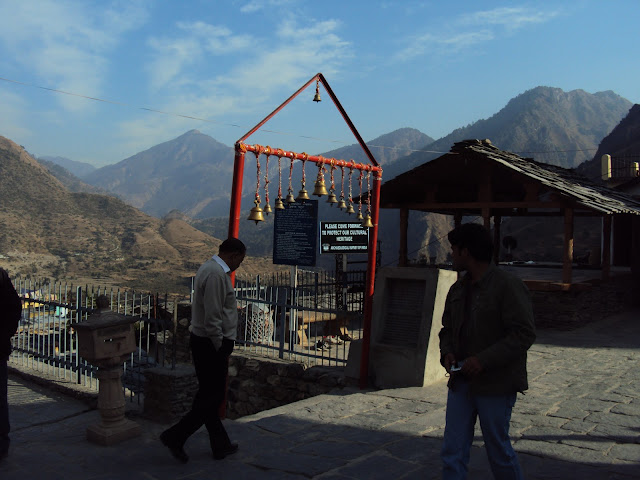 shiv temple in lakhamandal
