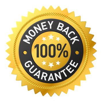 No Risk - 30 Days Money Back Guarantee