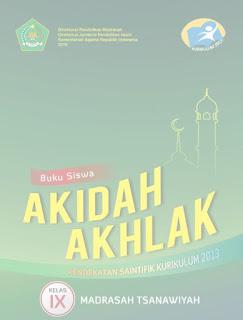 Download Buku Akidah Akhlaq Kelas 7,8,9 Madrasah Tsanawiyah
